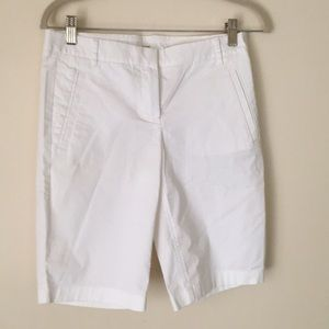 White NWOT J. Crew Shorts